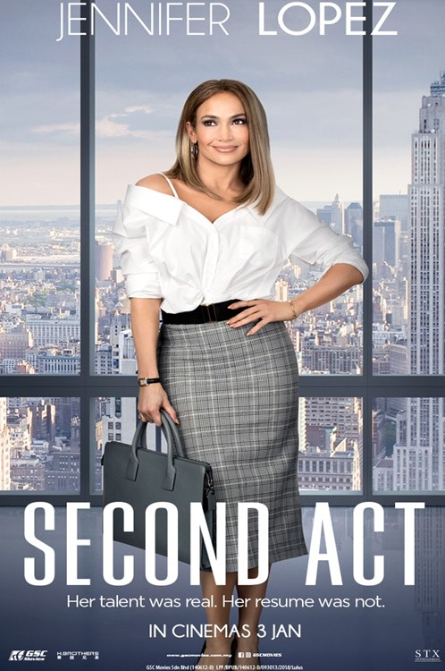 Review Filem Second Act