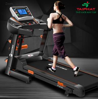 Máy chạy bộ cho cơ thể khỏe mạnh, hấp dẫn.
