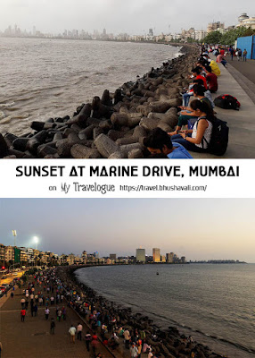 Sunset at Marine Drive Pinterest