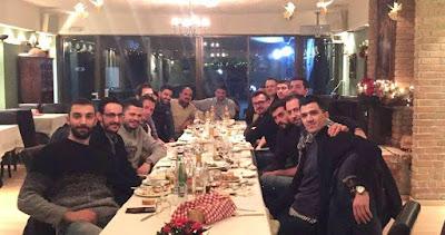 Εορταστικό δείπνο στον Γυαλό για τους Άνδρες του Αρχέλαου