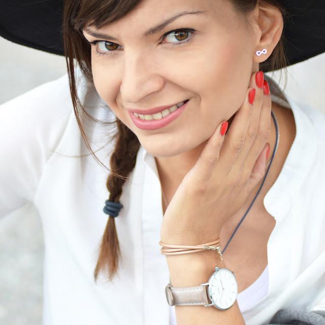 Tak wygląda blogerka prowadząca bloga Love in Warsaw, czyli ja :)