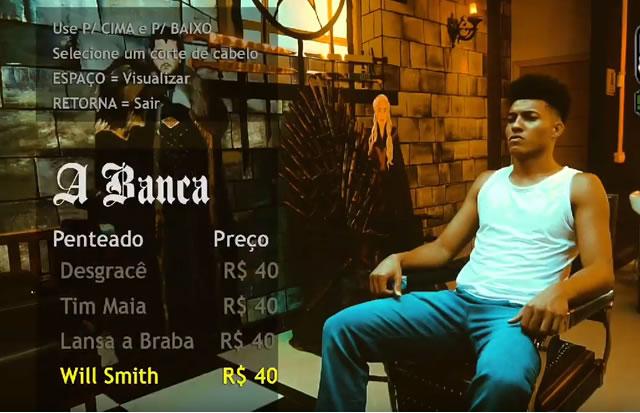 A Banca | GTA San Andreas usado em comercial de barbearia brasileira