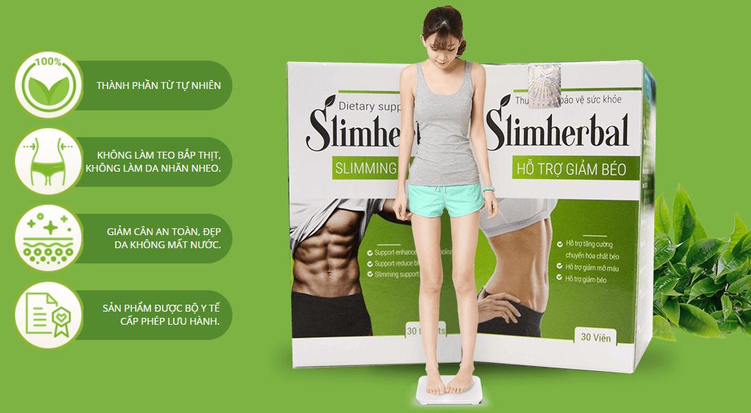 SLIM HERBAL - Viên giảm cân an toàn