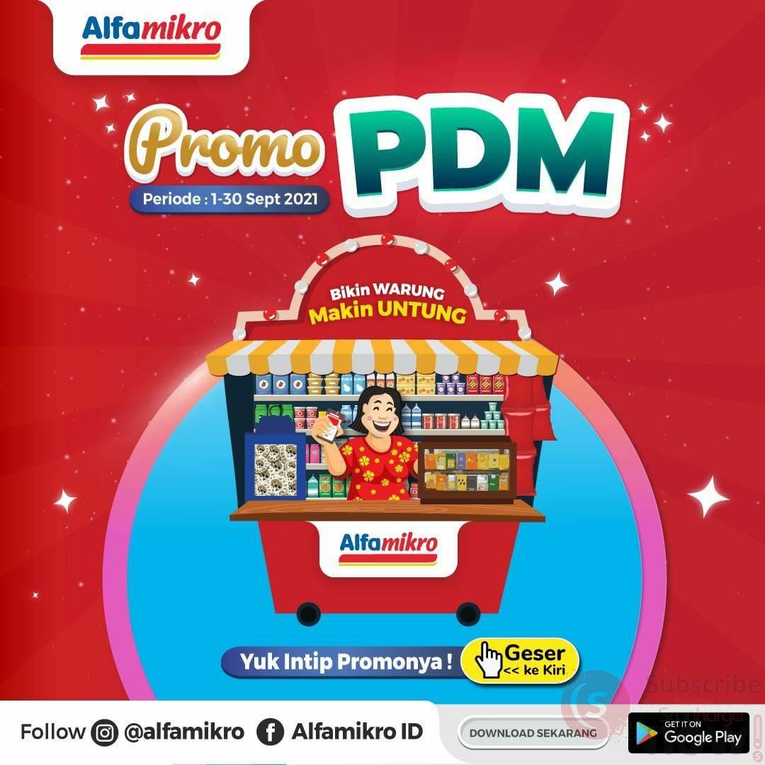 Katalog ALFAMIKRO Promo PDM Periode 1 - 31 September 2021