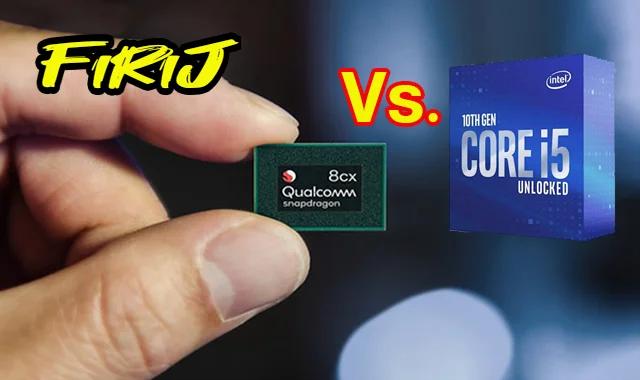 Qualcomm Snapdragon 8cx vs Intel Core i5