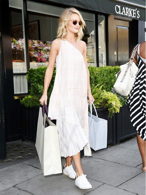 celebrit favorite sneakers Rosie Huntington-Whiteley {Cool Chic Style Fashion}