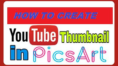 Make or Create Youtube Thumbnail