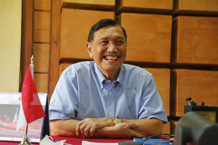Ditanya Kenapa Jokowi Selalu Pilih Dirinya, Begini Jawaban Luhut
