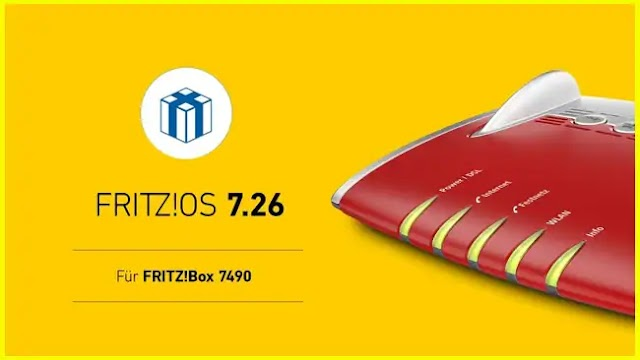 FRITZ! Box 7490 gets the final FRITZ! OS 7.26