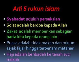 5 Rukun Islam Serta Penjelasannya