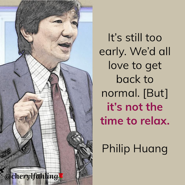 It's still too early. We'd all love to get back to normal. [But] it's not the time to relax. — Philip Huang, Dallas County's health director