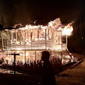 Kebakaran di Long Penaneh 1, Satu Rumah Warga Habis di Lahap Api