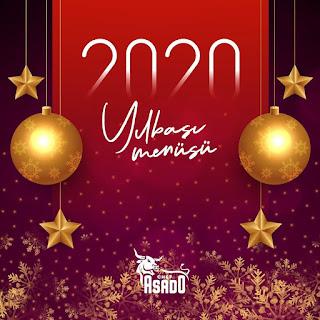 Chef Asado Mersin Yılbaşı Programı 2020 Menüsü