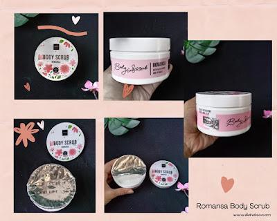 Romansa Body Scrub