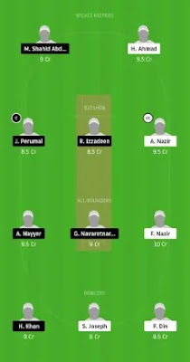 OLCC vs ZNCC Dream11 team prediction