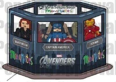 San Diego Comic-Con 2021 Exclusive The Avengers Marvel Minimates Commemorative Box Set by Diamond Select Toys