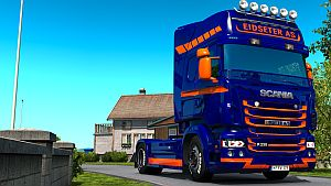 Eidseter A/S skin for Scania RJL
