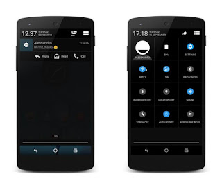 Tampilan Pada Custom ROM Ehndroix V For Andromax C2 New [AD688G]