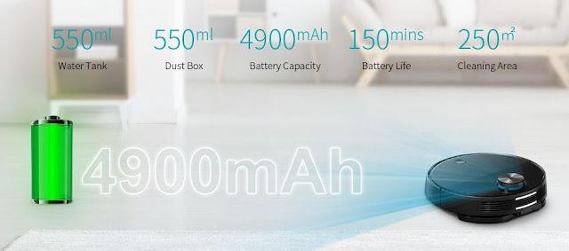 Xiaomi VIOMI V3 - Novo Robot aspirador Anti-Bacteriano!