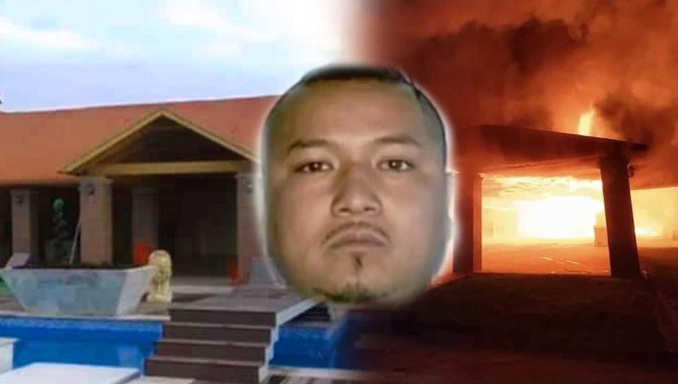 """Antes el lo hacia, ahora le toco, Grupo Armado incendio casa del líder Huachicolero José Antonio Yépez, """"El Marro"""" cerca de Celaya"""