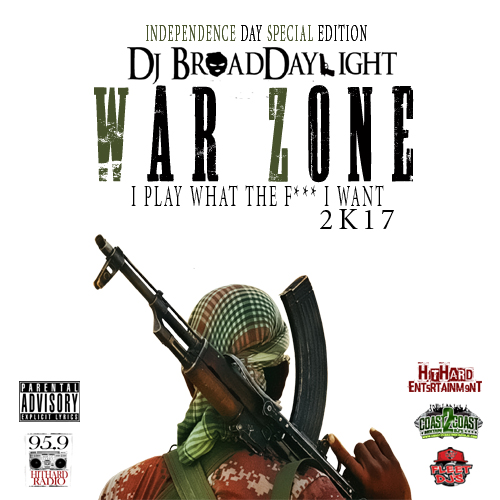 Dj Broaddaylight presents 95.9 Hit Hard Radio's Independence Day special edition mix: I Play What the F*** I Want 2k17