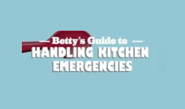 911: Kitchen Emergencies #Infographic