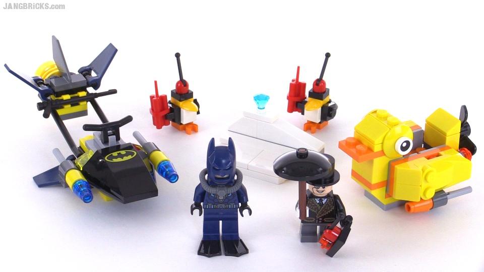 LEGO Super Heroes Batman: The Penguin Face-off set 76010