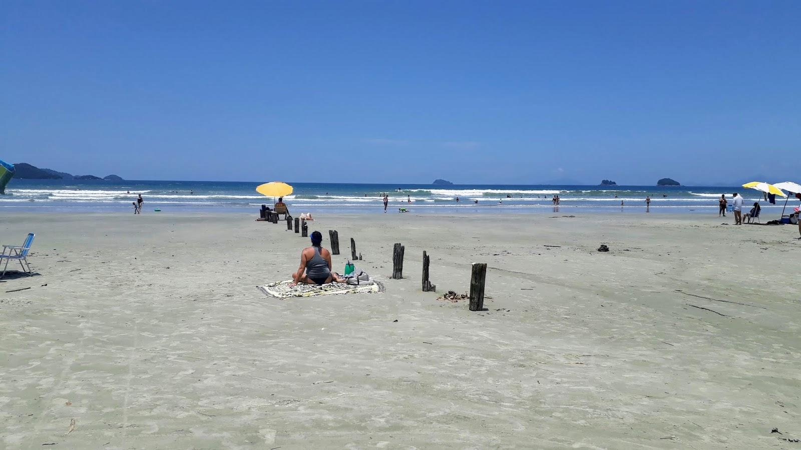 Primeira visão da Praia da Fazenda após passar pelo Centro de Visitantes