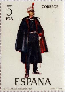 CAPITÁN DE INGENIEROS 1921