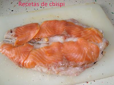 Pescadilla Rellena Al Horno