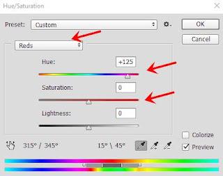Cara merubah warna di photoshop