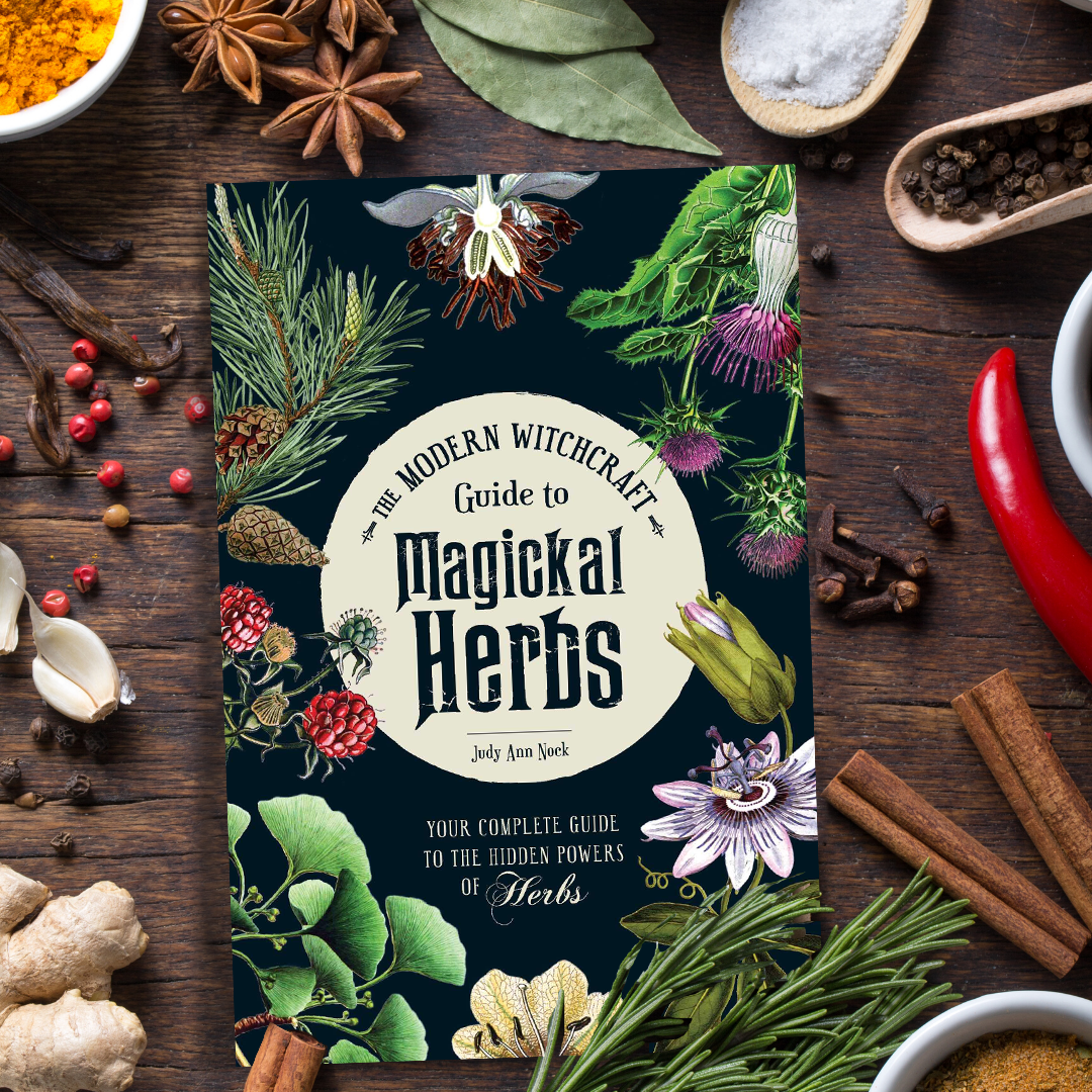 book review, magical herbs, witchcraft, kitchen witch