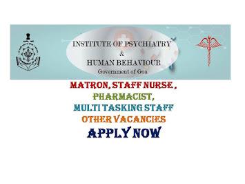 IPHB Staff Nurse Recruitment Govt Nursing Jobs