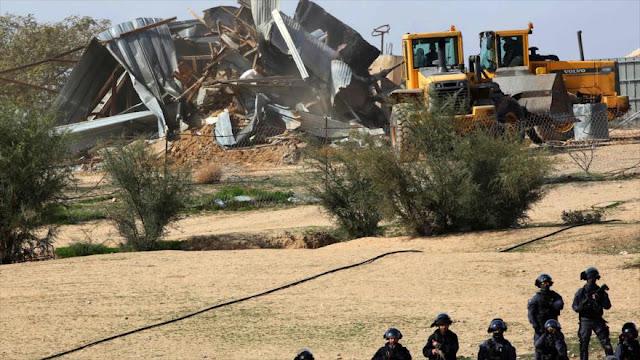Netanyahu impulsa plan para acelerar demolición de casas de palestinos