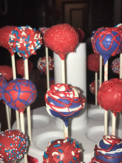 Memorial Day Patriotic Cake Pops