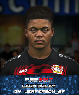 PES 2017 Faces Leon Bailey by FaceEditor Jefferson_SF
