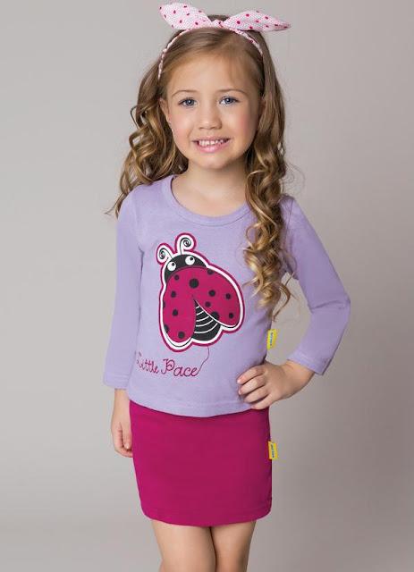conjunto de menina lilas joaninha