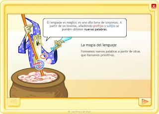 http://www.juntadeandalucia.es/averroes/centros-tic/14001529/helvia/aula/archivos/_6/html/263/lengua%20santillana%202%20cilo/contenido/2.biblio_recursos/animaciones/a_magiadellenguaje/es_animacion.html