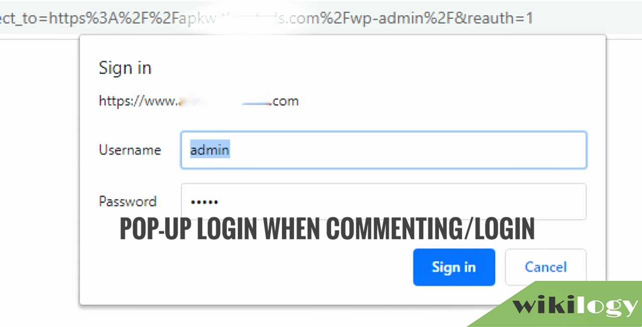 Show Login Pop Up When Comment in WordPress