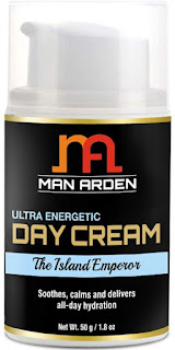 Man Arden Ultra Energetic Day Face Cream – The Island Emperor(best face cream for men)