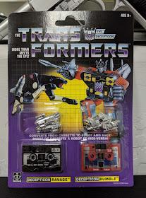 Transformers Toy TAKARA Hasbro G1 Rumble /& Ravage 2019 Reissue  New instock