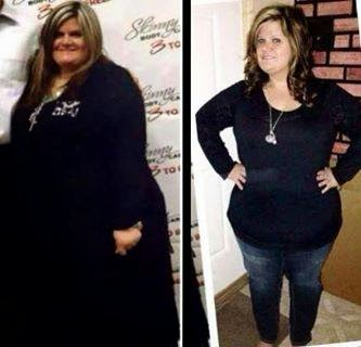 Courtney Luper lost over 100 pounds with Skinny Fiber and Atkins.