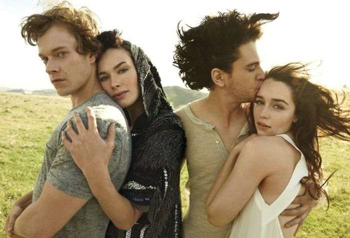 'Game of Thrones' Cast in Real Life ~ Damn Cool Pictures