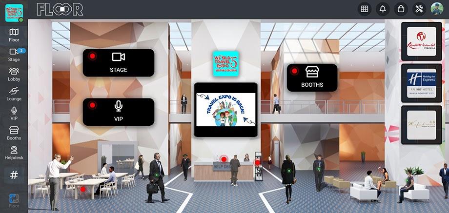 FLOOR virtual events platform