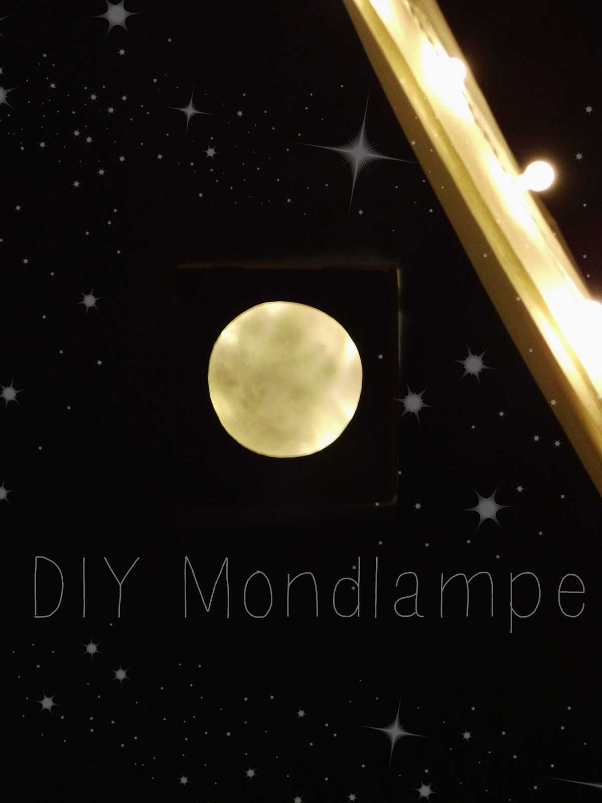 Ernestka stiller november und der supermond diy - Mondlampe kinderzimmer ...