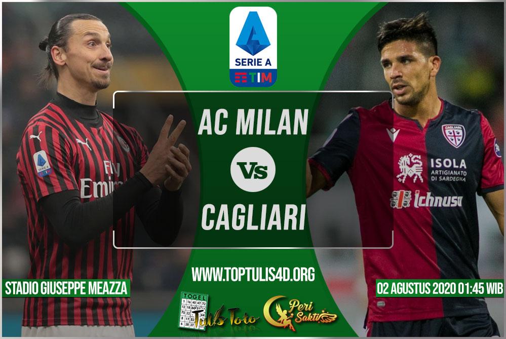 Prediksi AC Milan vs Cagliari 02 Agustus 2020