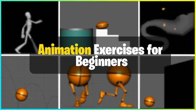 Animation Exercises for Beginners | Ball | Pendulum & Character Exercises | (2021)
