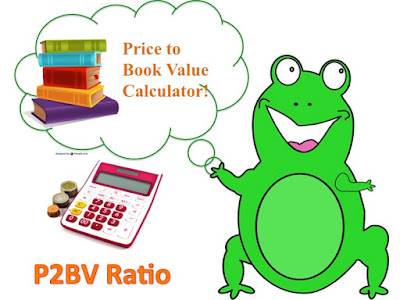Happy Investor Frog Explains Price to Book Value Calculation