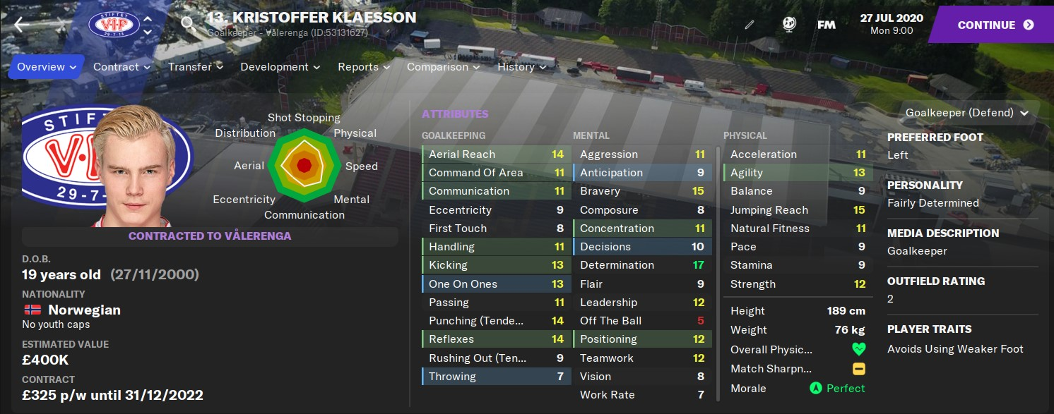 Kristoffer Klaesson FM21