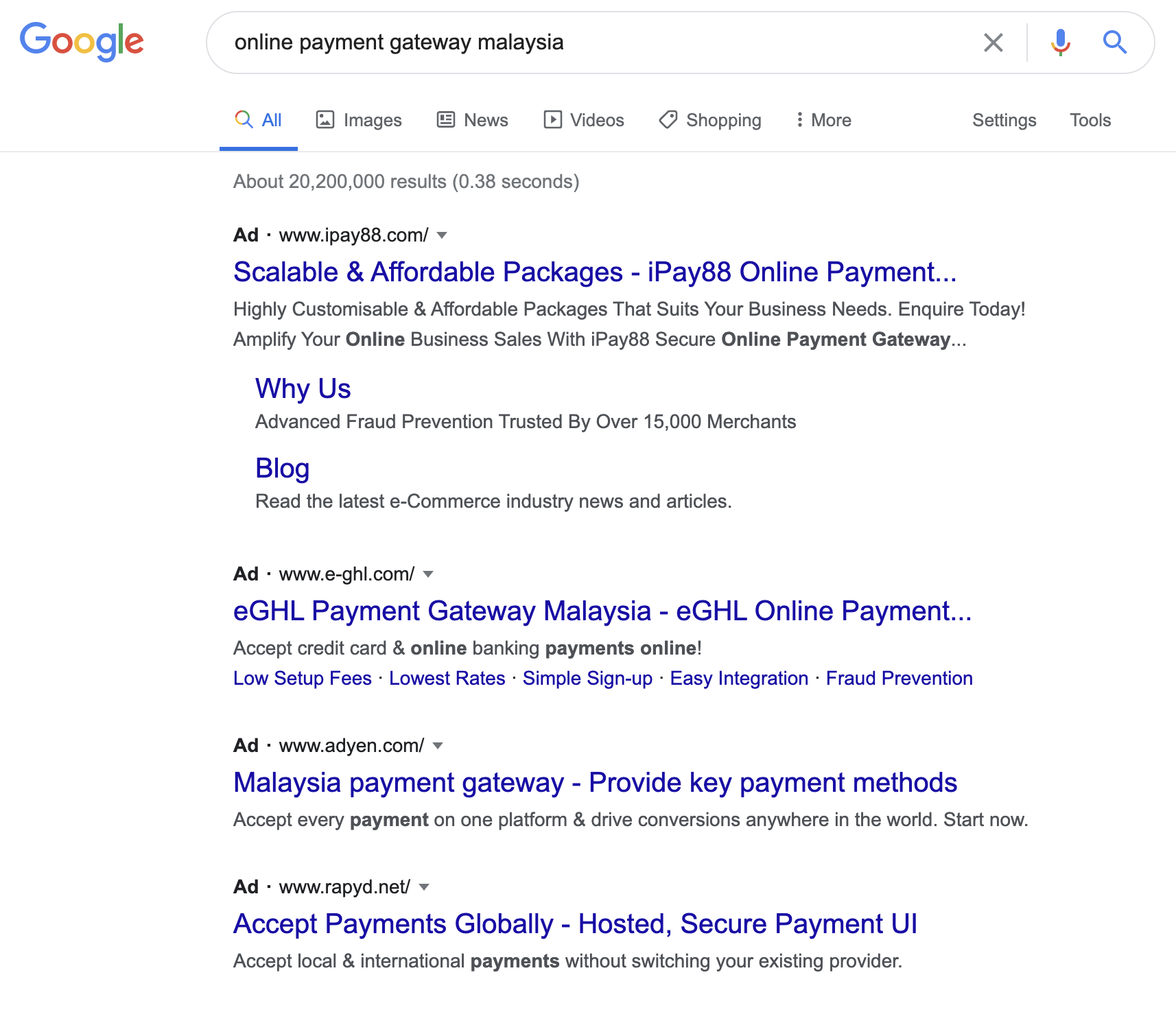 SEM: Online Payment Gateway Malaysia